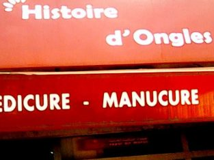 HISTOIRE D'ONGLES