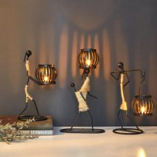 Lampes africaines decoration